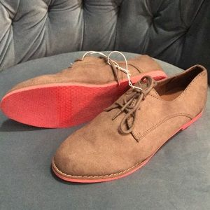Nwt taupe Brown tan loafers shoes espadrilles